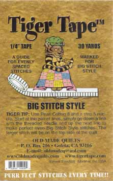 Big Stitch Style Tiger Tape