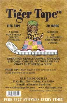Flex 12 for Gentle Curves Tiger Tape
