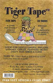 Flex 9 Gentle Curves Tiger Tape