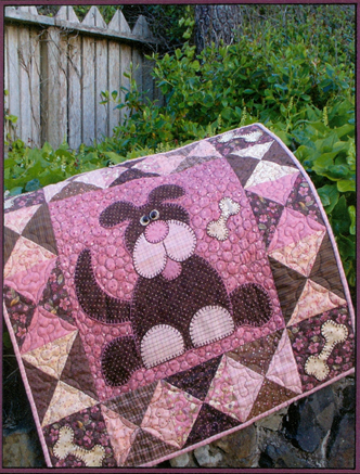 Woofer Wiggles Quilt Pattern